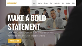 Stout Video Conferencing Service WordPress Theme