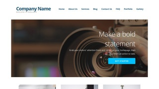 Ascension Video and Film Production WordPress Theme