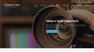 Lyrical Video and Film Production WordPress Theme