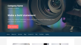 Primer Video and Film Production WordPress Theme
