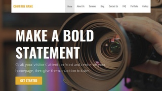 Stout Video and Film Production WordPress Theme
