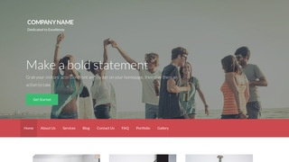 Activation Videographer WordPress Theme