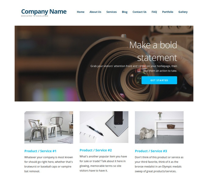 Ascension Video Production WordPress Theme