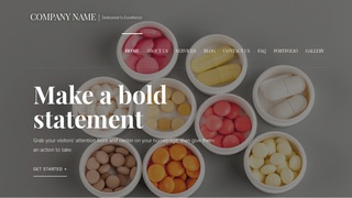 Velux Vitamin and Supplements WordPress Theme