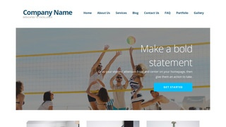Ascension Volleyball WordPress Theme