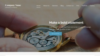 Lyrical Watch Repair WordPress Theme