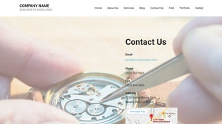 Mins Watch Repair WordPress Theme