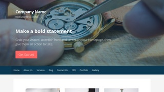Primer Watch Repair WordPress Theme