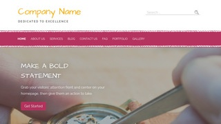 Scribbles Watch Repair WordPress Theme