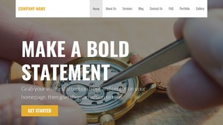 Stout Watch Repair WordPress Theme