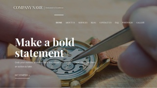 Velux Watch Repair WordPress Theme