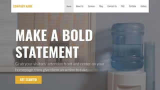 Stout Water Coolers WordPress Theme