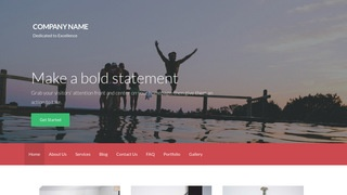 Activation Water Sports Equipment WordPress Theme