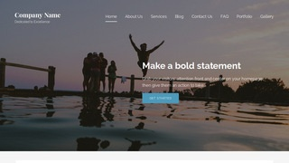 Lyrical Water Sports Equipment WordPress Theme