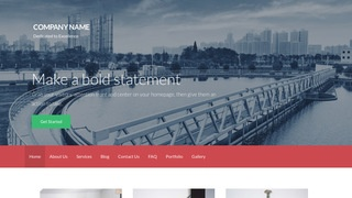 Activation Water Treatment Equipment WordPress Theme