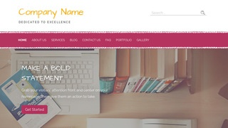 Scribbles Web Hosting Company WordPress Theme