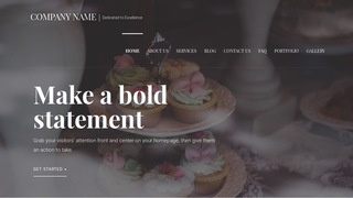Velux Wedding Cakes WordPress Theme