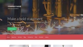 Activation Welding Supply Store WordPress Theme