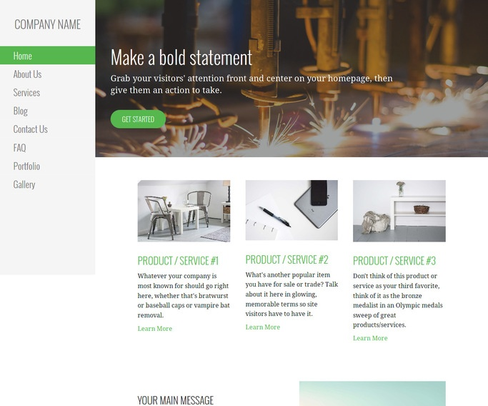 Escapade Welding Supply Store WordPress Theme