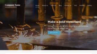 Lyrical Welding Supply Store WordPress Theme