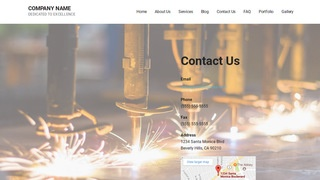 Mins Welding Supply Store WordPress Theme