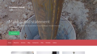 Activation Well Drilling Contractor WordPress Theme