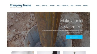 Ascension Well Drilling Contractor WordPress Theme