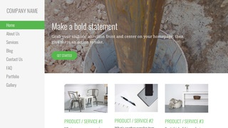 Escapade Well Drilling Contractor WordPress Theme