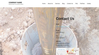 Mins Well Drilling Contractor WordPress Theme