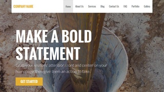 Stout Well Drilling Contractor WordPress Theme