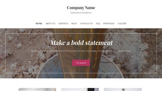 Uptown Style Well Drilling Contractor WordPress Theme