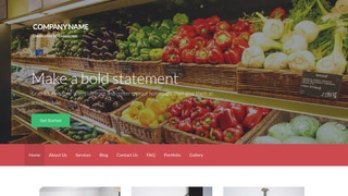 Activation Wholesale Grocer WordPress Theme
