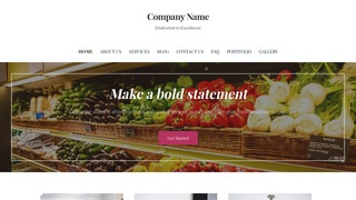 Uptown Style Wholesale Grocer WordPress Theme