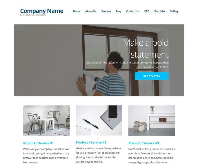 Ascension Window Repair and Installation WordPress Theme