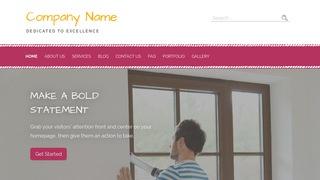 Scribbles Window Repair and Installation WordPress Theme