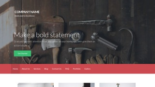 Activation Woodworking supplies WordPress Theme