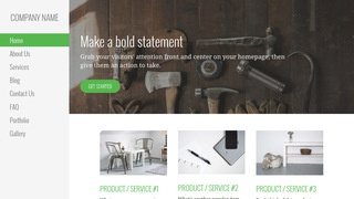 Escapade Woodworking supplies WordPress Theme