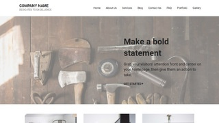 Mins Woodworking supplies WordPress Theme