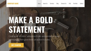 Stout Woodworking supplies WordPress Theme