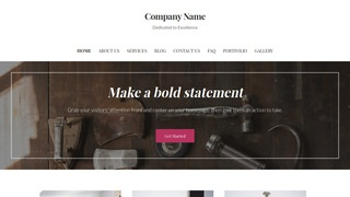 Uptown Style Woodworking supplies WordPress Theme