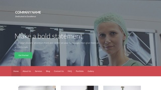 Activation X-Ray Lab WordPress Theme