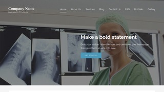 Lyrical X-Ray Lab WordPress Theme