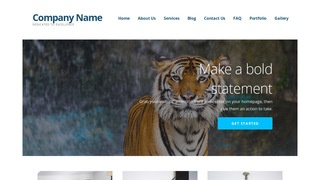 Ascension Zoo WordPress Theme