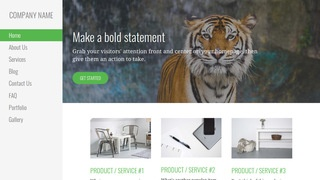 Escapade Zoo WordPress Theme