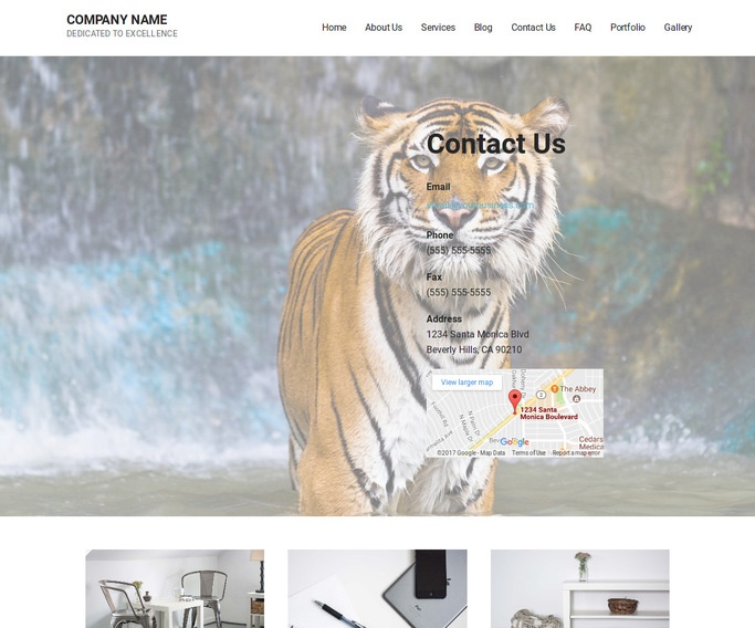 Mins Zoo WordPress Theme