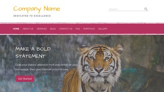 Scribbles Zoo WordPress Theme
