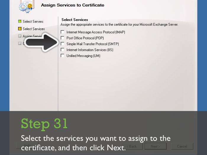 Installing An Ssl Certificate On Microsoft Exchange Server 2010