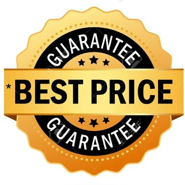 We guarantee to beat any price within 50 miles of our shop for same product.