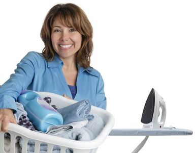 Friendly Experienced Professional ironing Service reliable laundry iron basket