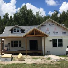 Lake Helen, FL home by Vintage Custom Homes under construction.